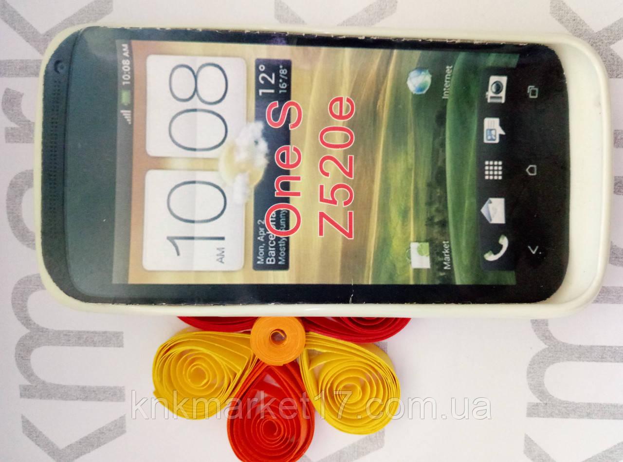 Чохол для HTC One S/Z520e (пластик білий)