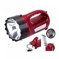 Аккумуляторный,светодиодный фонарь 19+17 диодов Yajia YJ-2820
