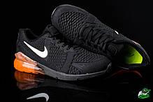 Мужские кроссовки Nike Air Max 270 оранжевые топ реплика , фото 2