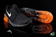 Мужские кроссовки Nike Air Max 270 оранжевые топ реплика , фото 3