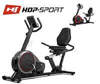 Магнитный, горизонтальный велотренажер HS-060L Pulse Grey до 130 кг. Гарантия 24 мес.