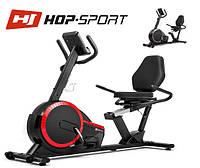 Магнитный, горизонтальный велотренажер HS-060L Pulse Red до 130 кг. Гарантия 24 мес.