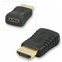 Переходник HDMI M/mini HDMI F