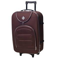 Валіза чемодан ручная кладь Bonro Lux маленька 25 л coffee 5 коліс з гарантією 12 місяців