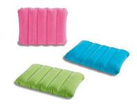 Надувная велюровая подушка