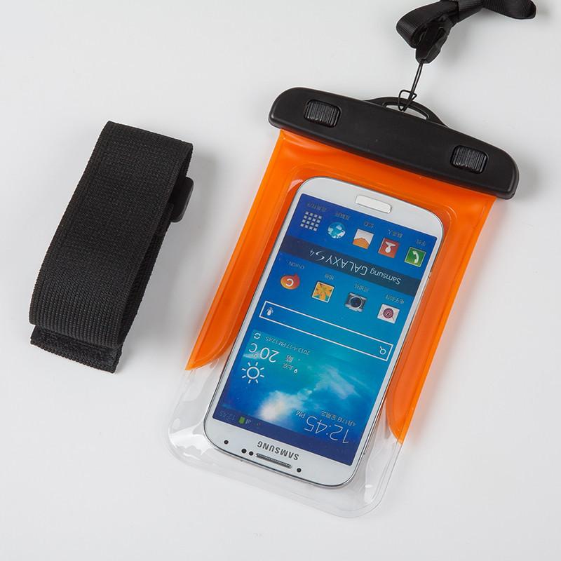 Водонепроницаемый чехол Extreme Bag для смартфонов до 5 '' оранжевый