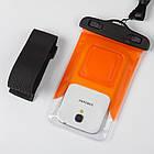 Водонепроницаемый чехол Extreme Bag для смартфонов до 5 '' оранжевый , фото 2