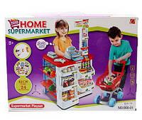 """Игровой набор """"Супермаркет с тележкой"""" 668-01 , фото 1"""