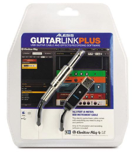 Аудиоинтерфейсы для ПК ALESIS GUITARLINK PLUS