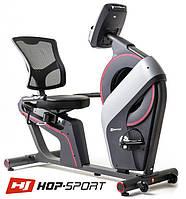 Магнитный с электронным управлением велотренажер HS-200L Dust iConsole+ до 150 кг. Гарантия 24 мес.