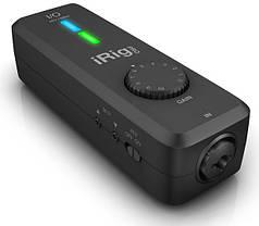 Мобільний аудіо/MIDI інтерфейс IK MULTIMEDIA iRIG PRO I/O
