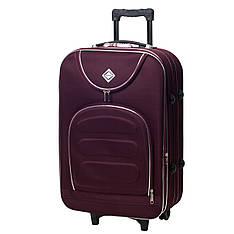 Валіза чемодан ручная кладь Bonro Lux маленька 25 л бордова 5 коліс з гарантією 12 місяців