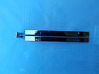 Полкодержатель двойной хром 30см двойное крепление