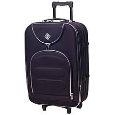 Валіза чемодан ручная кладь  Bonro Lux маленька 25 л темно-фіолетова 5 коліс з гарантією 12 місяців