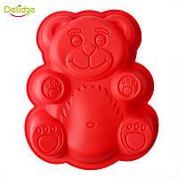 """Силиконовая форма """"Валера"""" 19*16*4 см для изготовления желейного медведя"""