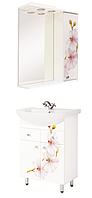 Комплект мебели в ванную Орхидея