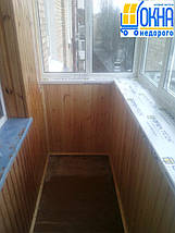 Внутренняя обшивка балконов деревянной вагонкой, фото 3