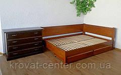 """Кровать угловая """"Шанталь"""". Массив дерева - сосна, ольха, береза, дуб. , фото 3"""