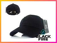 Кепка Philipp Plein бейсболка Филипп Плейн черная с черным логотипом