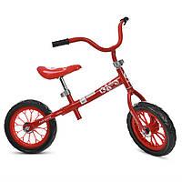 Беговел M 3255-3, красный, колесо EVA, два колеса 12 дюймов