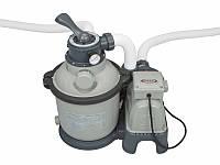 Песочный фильтр-насос с переходниками Intex 28644 4542 л/ч. до 20м3