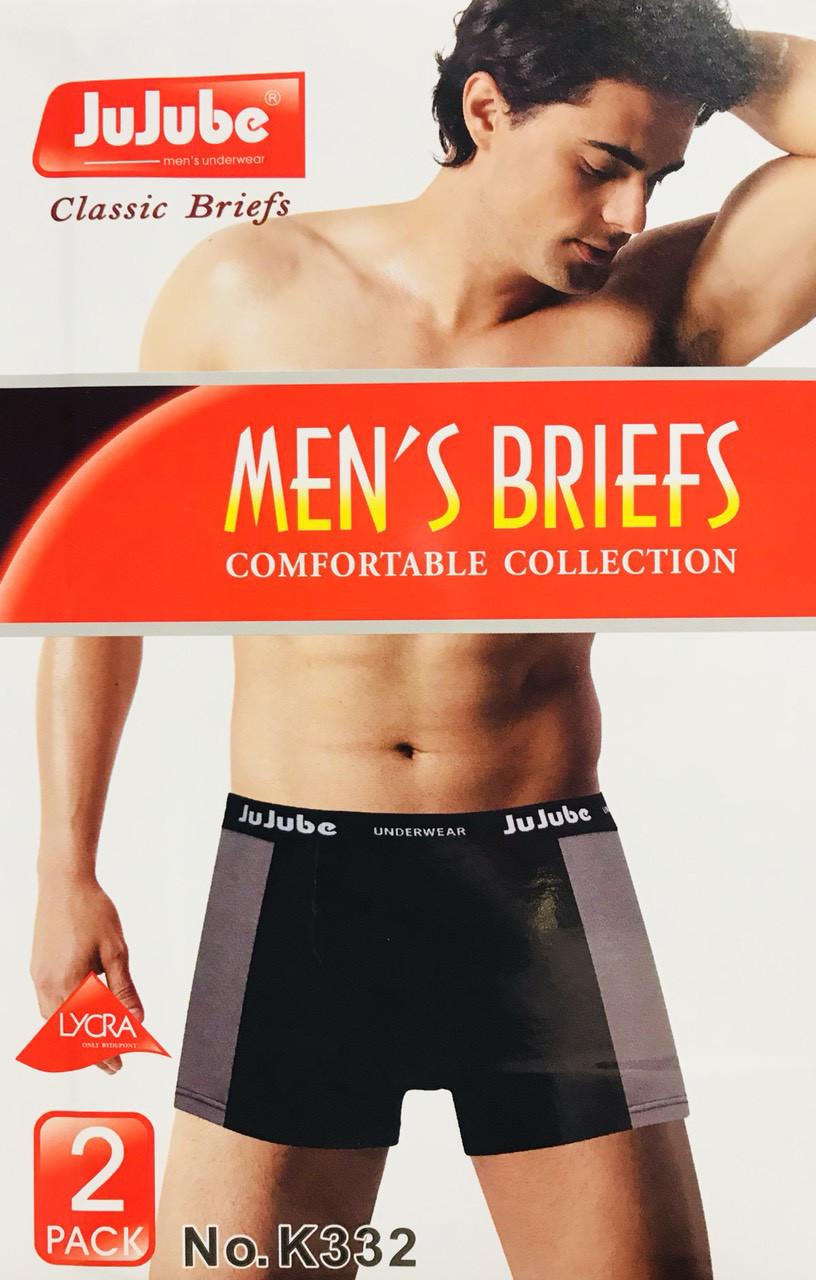 Трусы мужские боксёры хлопок JuJuBe размер XL-4XL(46-52) 332