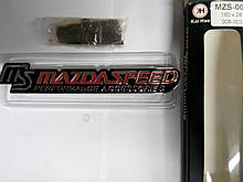 Надпись MS MAZDA SPEED в решетку радиатора металл  160х28 мм
