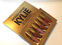 Набор матовых жидких помад Kylie Birthday Edition 6шт