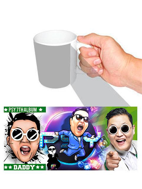 Чашка певец САЙ / PSY