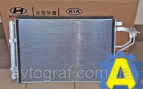 Радиатор кондиционера на Хьюндай Элантра (Hyundai Elantra) 2011-2016