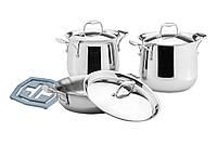 Набор посуды Vinzer Tulip 89027 (7 предметов)