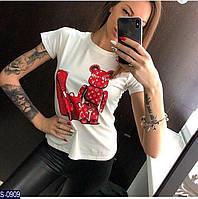 Женская футболка S-0909