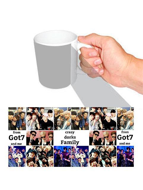 Чашка K-pop Got7