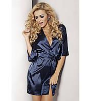750c6981c2054 Короткий шелковый домашний халат в категории халаты женские в ...