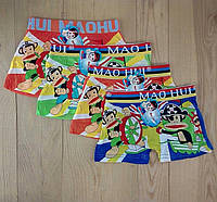 Трусы боксёры для мальчика MAOHUI обезьянки 12 шт упаковка ТДП-2818