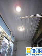 Обшивка балкона пластиковою вагонкою всередині, фото 2