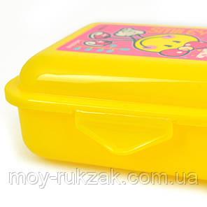 """Контейнер для еды YES """"Smiley World"""" (pink) 706237, фото 2"""