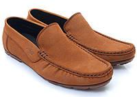 Мокасины мужские - Polo Style коричневые, фото 1