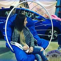 """Металлическое подвесное кресло шар """"Grid"""""""