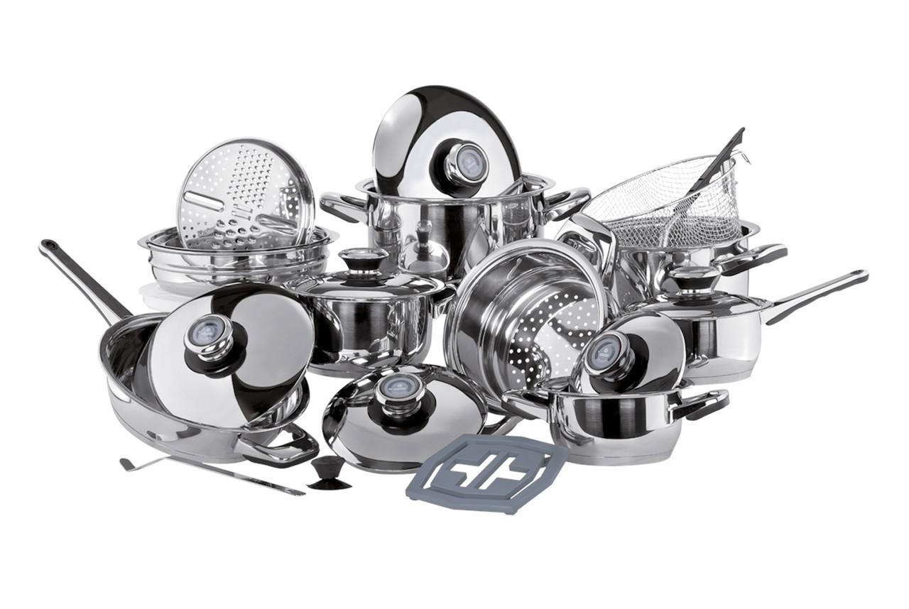 Набор посуды Vinzer Grand Cuisine 89025 (24 предметов)