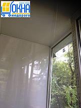 Обшивка балкона пластиковою вагонкою всередині, фото 3