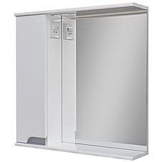 Комплект мебели для ванной комнаты Симпл-Металлик 70-30-70-17-40-11 с зеркалом и пеналом ПИК, фото 2