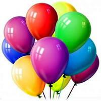Воздушные шарики для тортов - жёлтые  - 10 штук