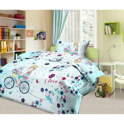Постельное белье Элли и пес бязь ТМ Царский дом в кроватку, фото 2