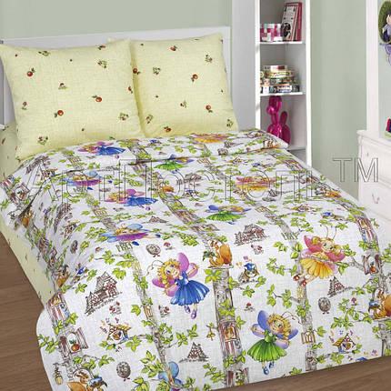 Постельное белье Лесные феи поплин ТМ Комфорт текстиль (в кроватку), фото 2