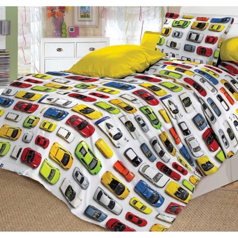 Постельное белье Модельки поплин ТМ Царский дом в кроватку