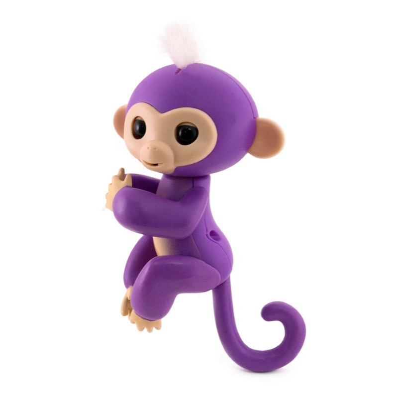 Игрушка Интерактивная Happy Monkey Purple (THM6004)