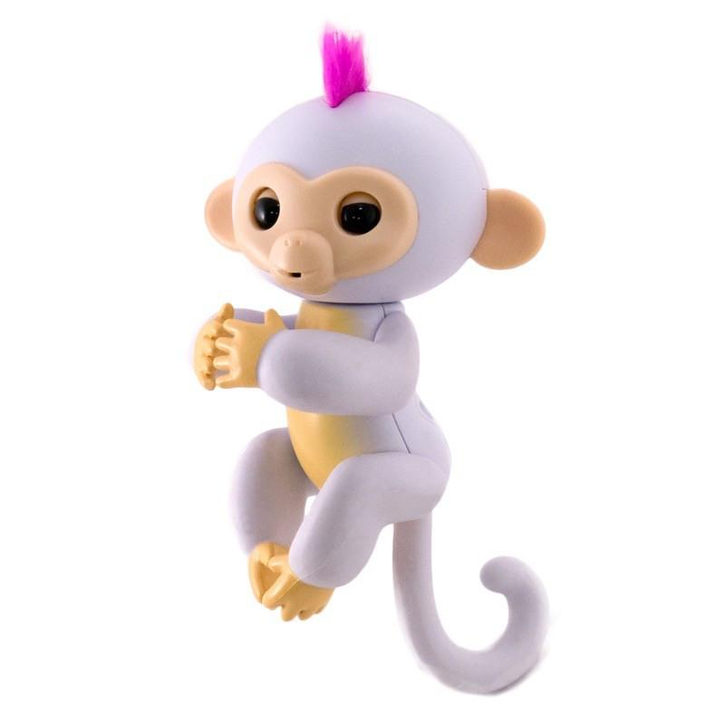 Игрушка Интерактивная Happy Monkey White (THM6005)