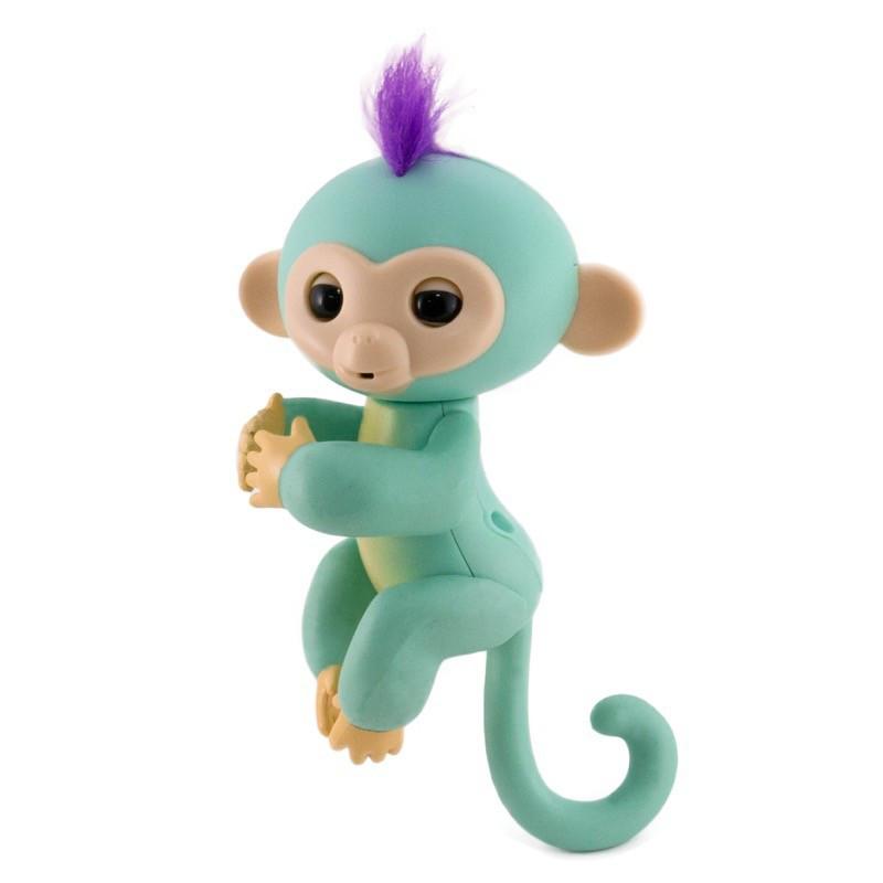 Игрушка Интерактивная Happy Monkey Green (THM6001)