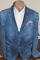Мужской молодежный джинсовый пиджак RedPolo